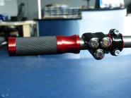 RIZOMA Alu-Griffe Sport für 22 mm Lenker Schwarz