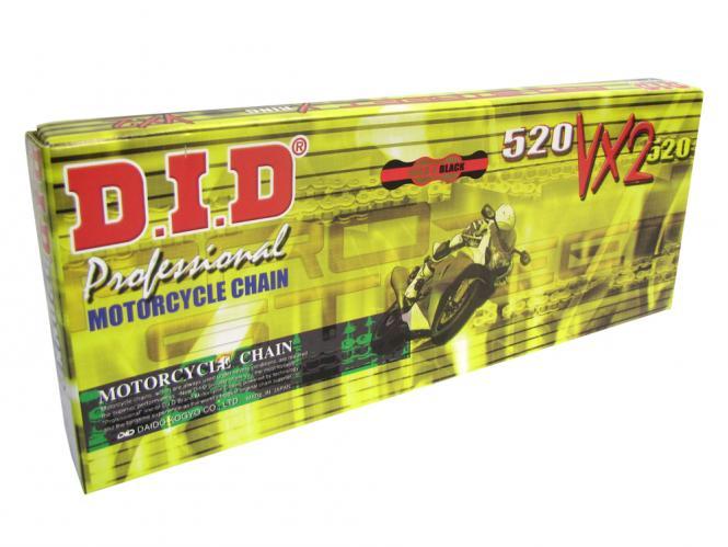 D.I.D Kette 520VX3   schwarz 98 Glieder